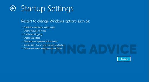 Start Windows in Safe Mode