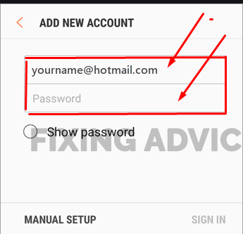 Check Junk Mail Folder in Default App