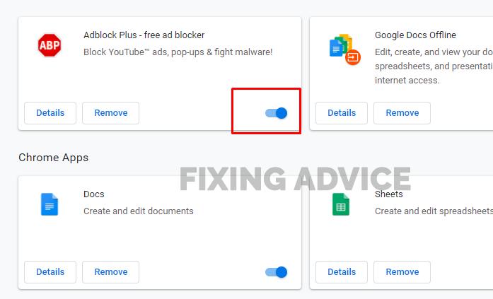 Disable Ad-Blocker