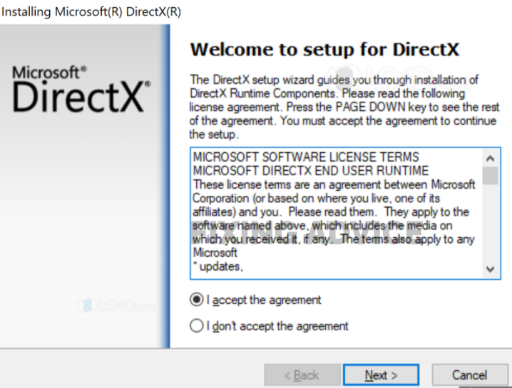 Install Directx on Your Computer