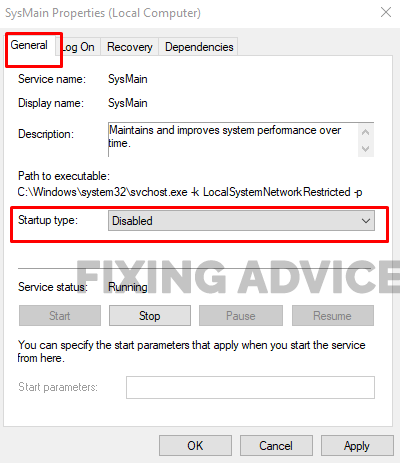 Method 1- Use Service App to Disable Superfetch