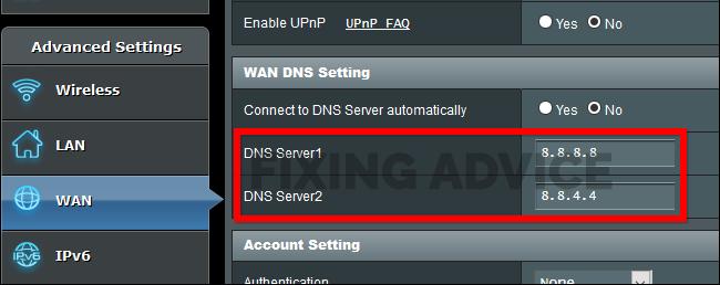 Method 2: Change DNS