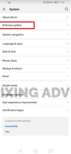 Method 3- Update Operating System