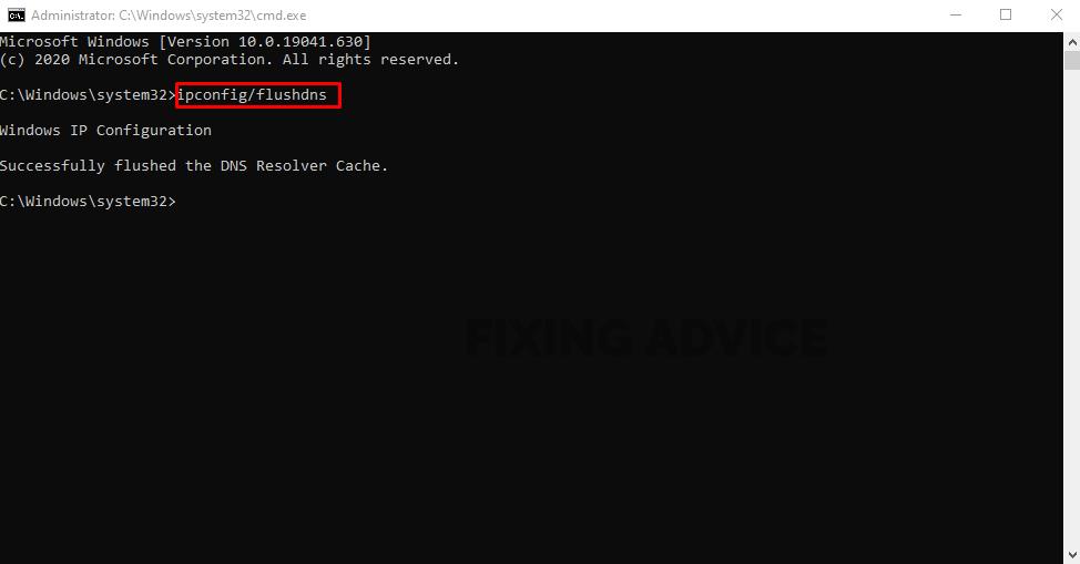 Method 4- Flush Your DNS
