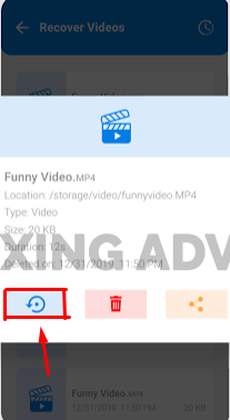 Recover Videos With the Android Deleted Video Recovery App