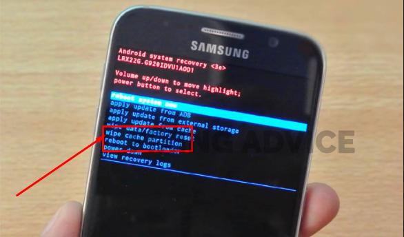 Remove the Phone Cache