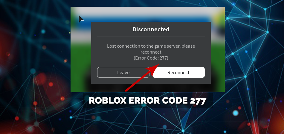 Roblox error code 277