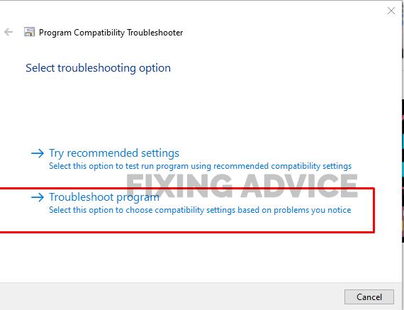 Run Roblox Compatibility Mode
