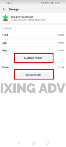 Update Google Play Service App