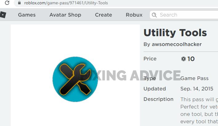Use Error 277 Roblox Utility Tool