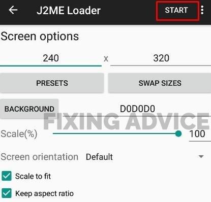 Use J2ME Loader