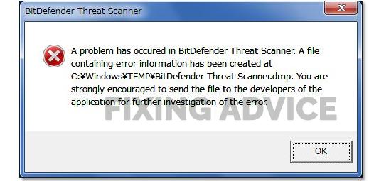 What is the Bitdefender Error on Shutdown