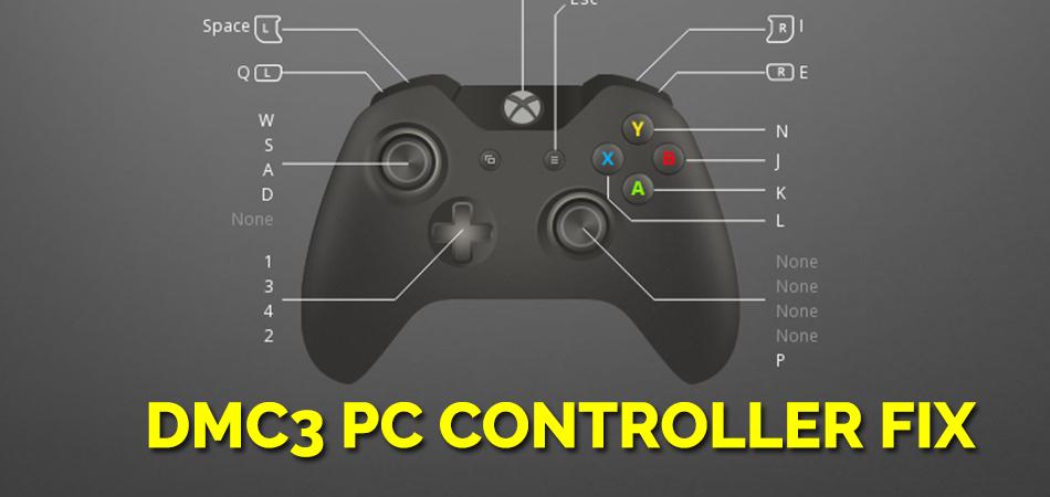 DMC3 PC Controller Fix