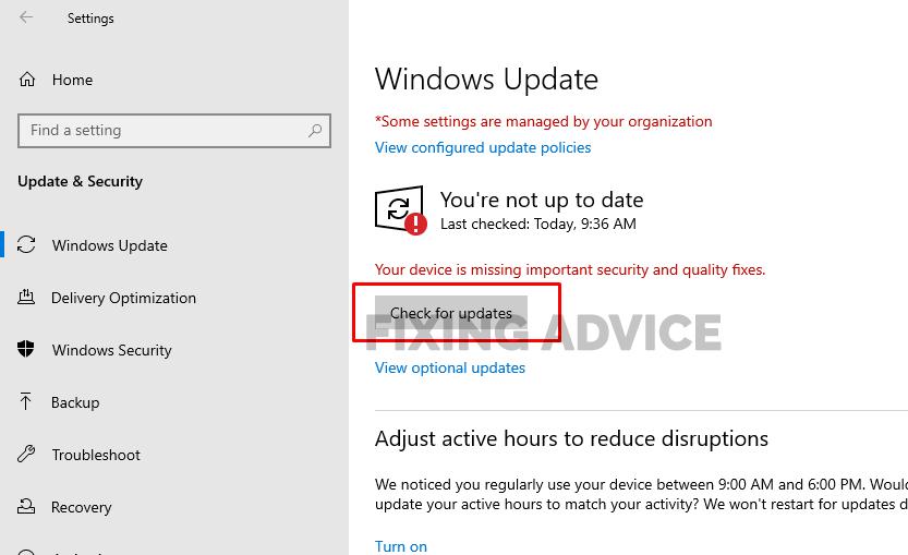Delete Temporary Windows Update Files