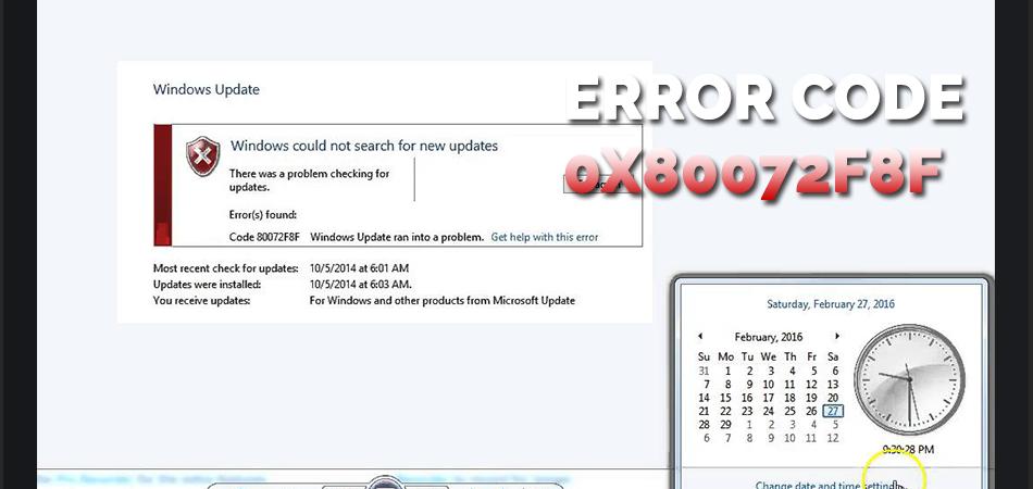 Error-Code-0x80072f8f