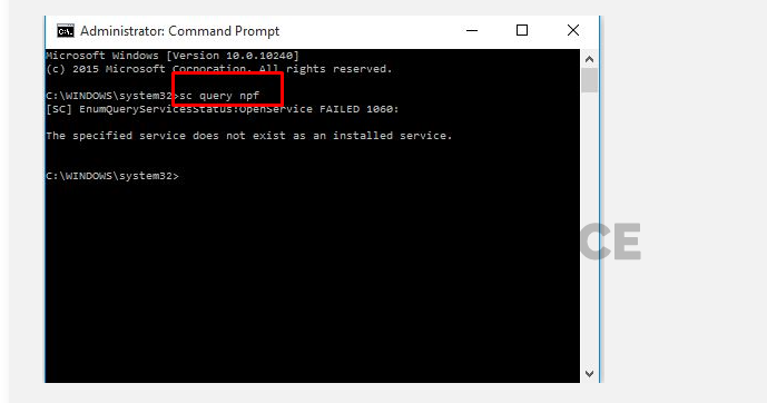 Resolve the Issue with Command Prompt