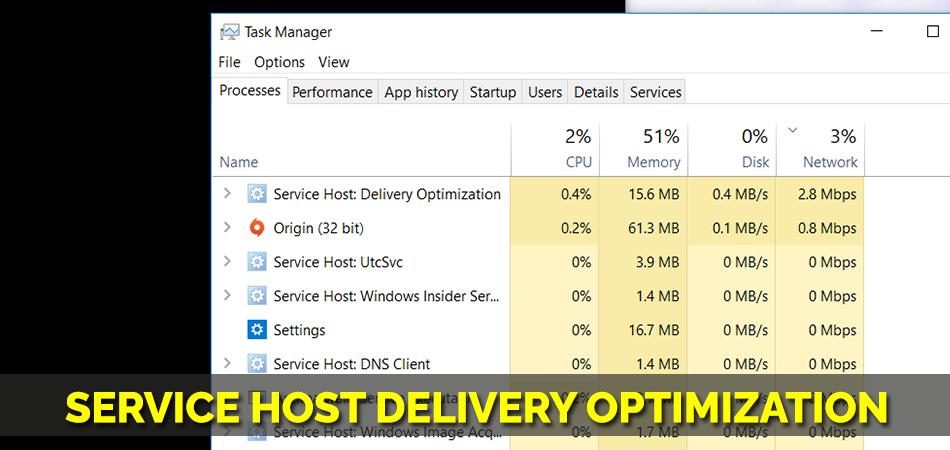 Service Host Delivery Optimization