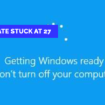 Windows Update Stuck At 27
