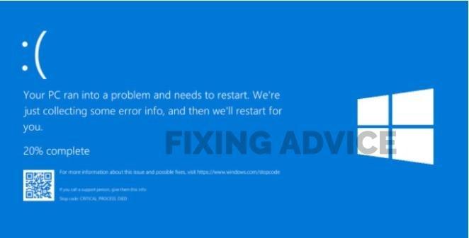 Blue Screen Error