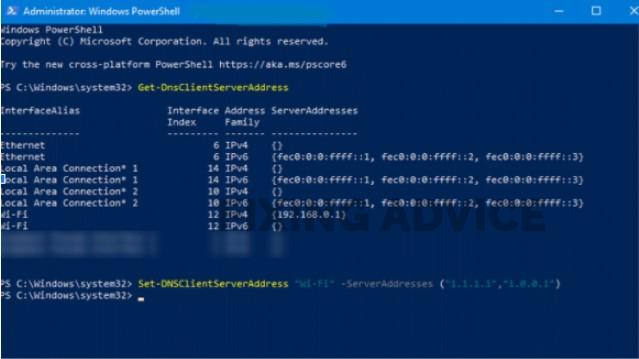 DNS Server Using PowerShell