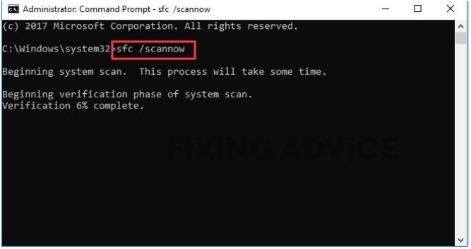 File Checker in Windows