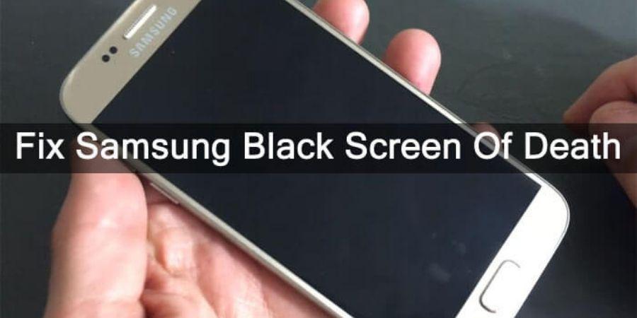 samsung black screen of death fix