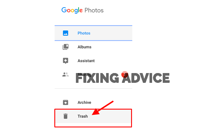 Press on the above Three-Dot option to Restore Photos From Google Photos