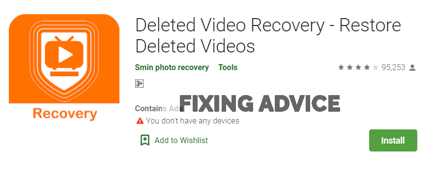 Recover Deleted Photos With Android Data Recovery App