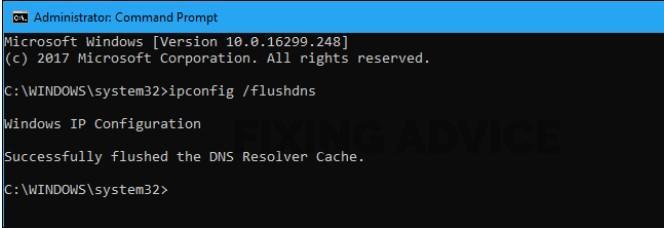Restart the DNS Client