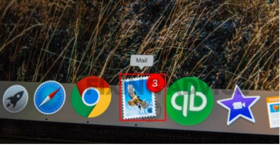 """Open the """"Mail"""" app"""