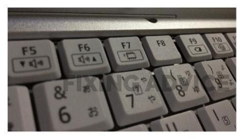 "Enter ""F, F4, Fn+F4"""
