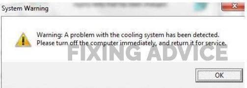 Toshiba Tecra Error