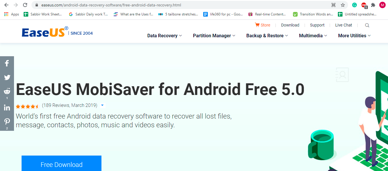 download EaseUS to Restore Photo