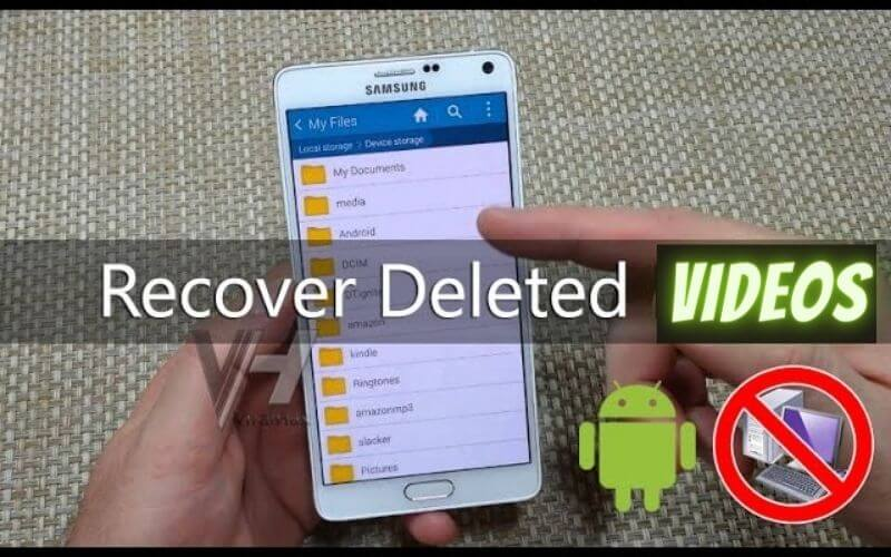 how to recover deleted videos from phone memory