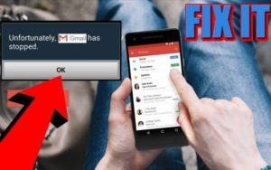 How to Fix Unfortunately Email Has Stopped Error on Android