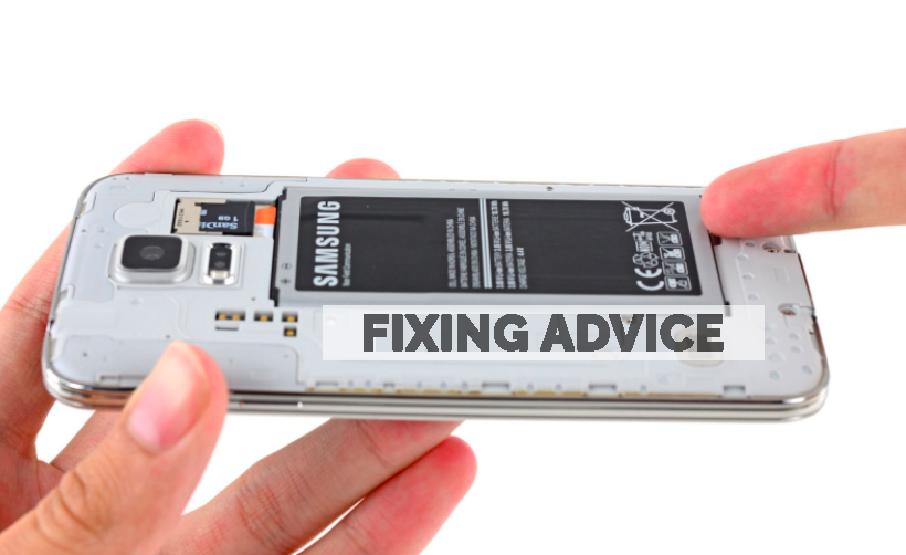 Remove & Re-insert the Battery to Fix Samsung Black Screen of Death