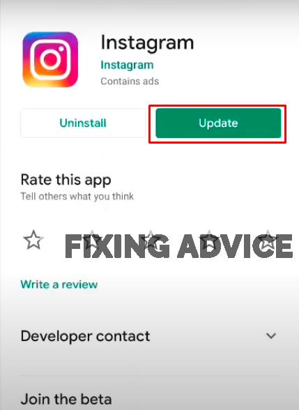 download instagram to fix instagram unknown error