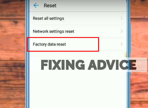 reset all settings to to fix Unfortunately Facebook Has Stopped